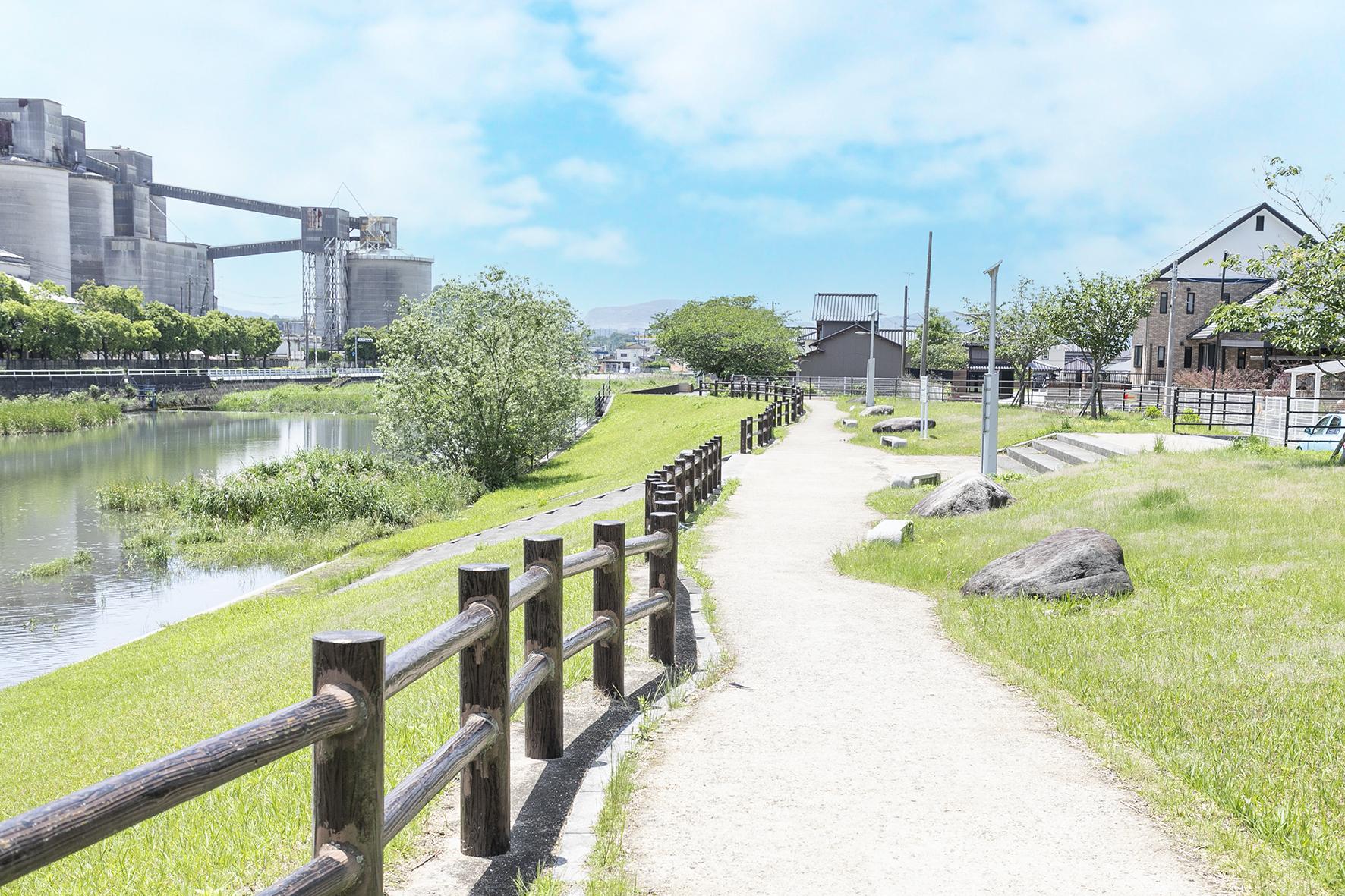 清瀬⽔辺公園