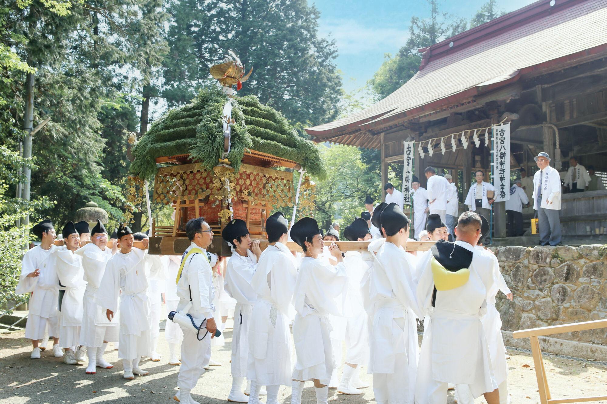 古宮⼋幡神社 神幸祭
