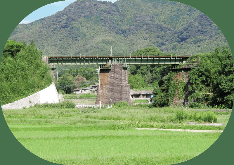 六⼗尺鉄橋